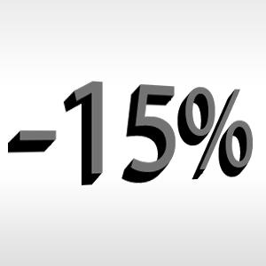 CORPORATE RATE -15%