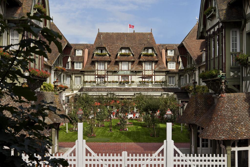 Hôtel barrière le normandy deauville à Deauville