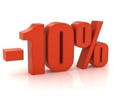 <he>3 NOTTI SCONTO 10% NON RIMBORSABILE