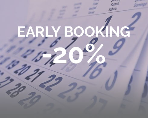 Book now and get 20% discount
