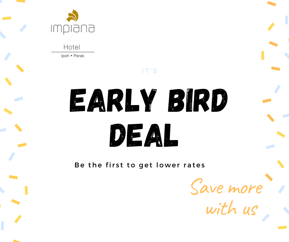 Early Booking Room Only : Up To 20% Discount