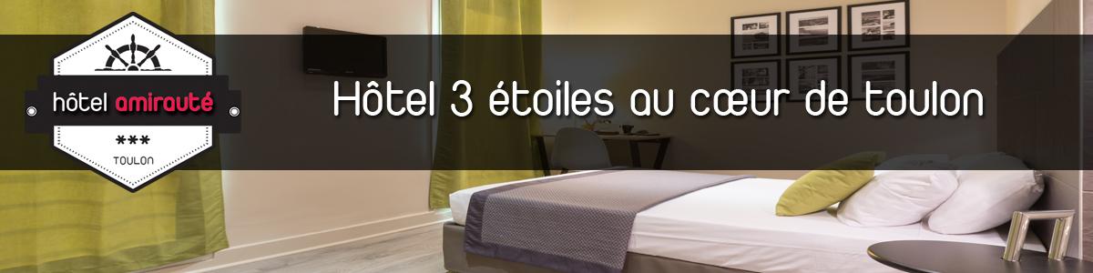 Hotel amirauté toulon à Toulon