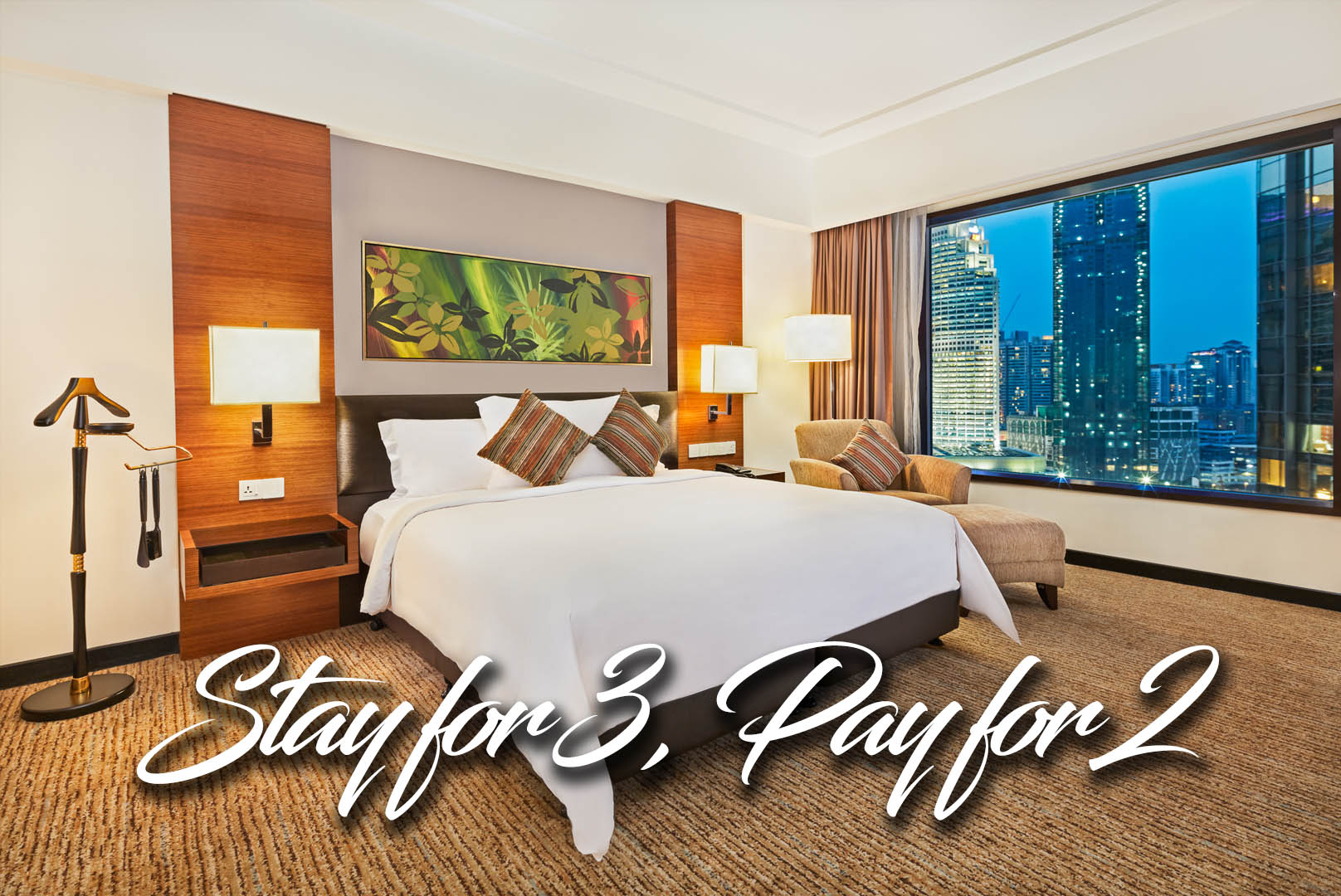 Stay 3 Nights and Pay 2 Nights