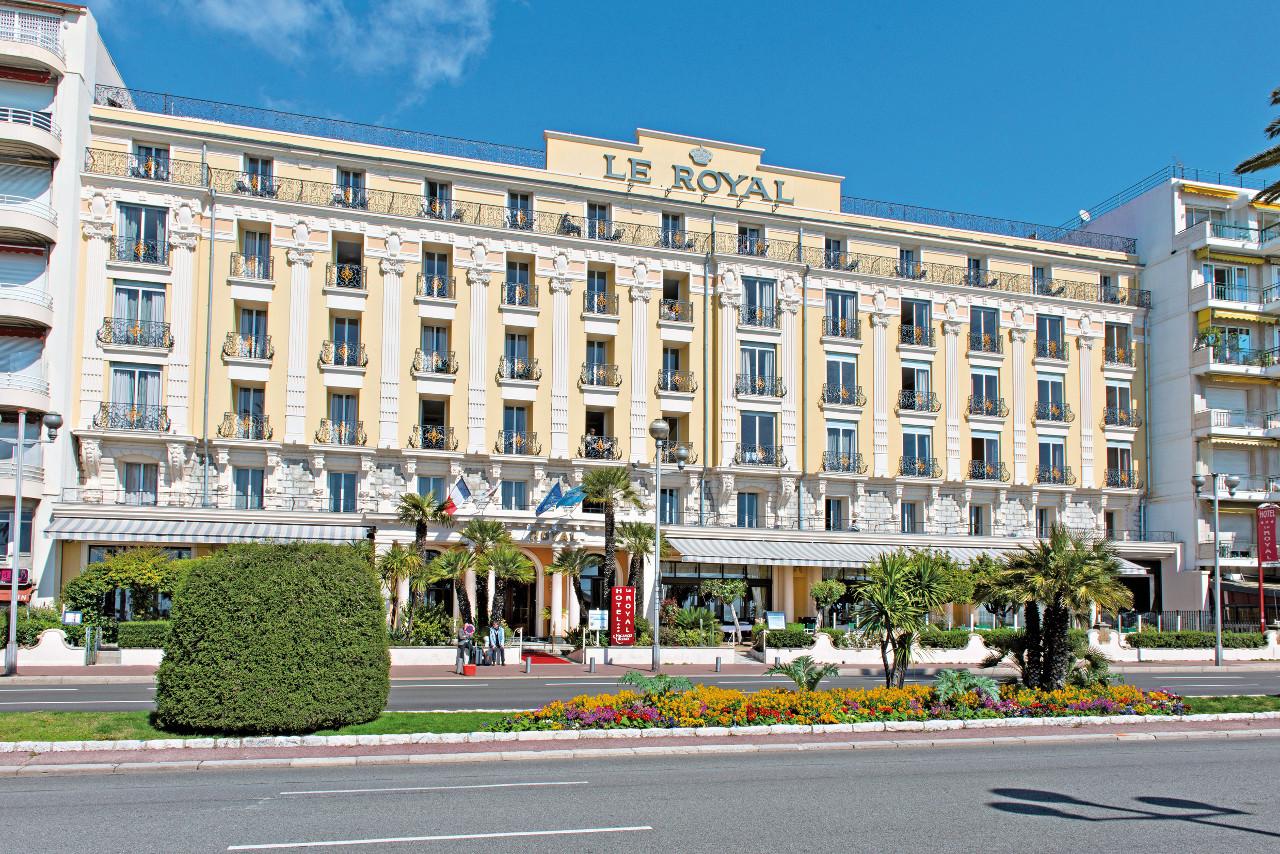 Hôtel vacances bleues - le royal à Nice