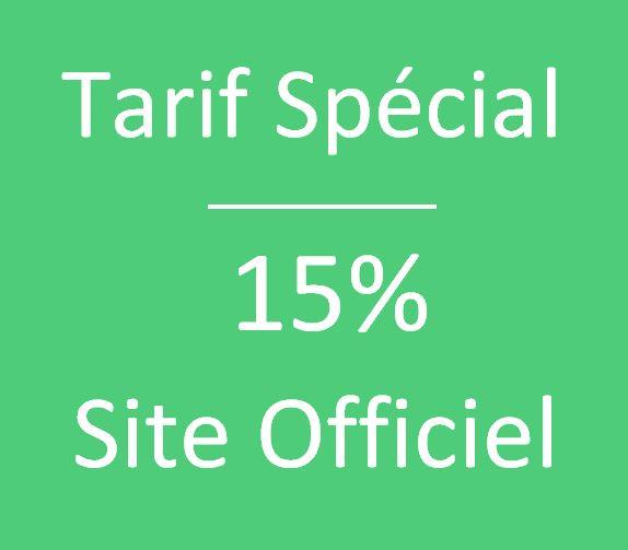 Tarif Exclusif Site officiel