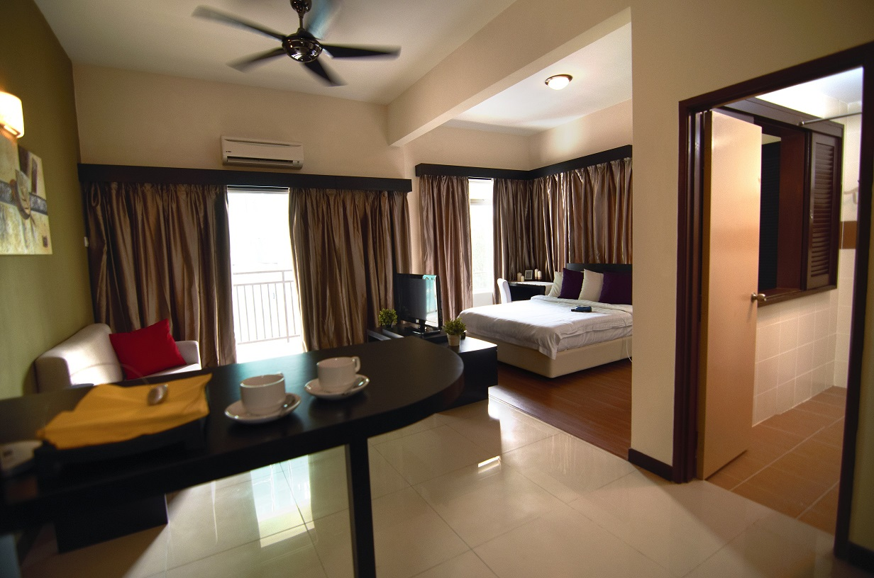 Studio Apartment Untuk Disewa accommodation melaka, malaysia resort - bayou lagoon park resort