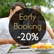 EARLY BOOKING / JUSQU'A 20% DE REDUCTION