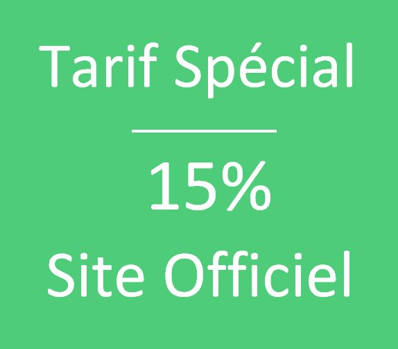 Tarif Exclusif Site officiel