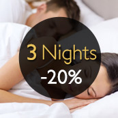 EXCLUSIVITE WEB : 3 NUITS / 20%