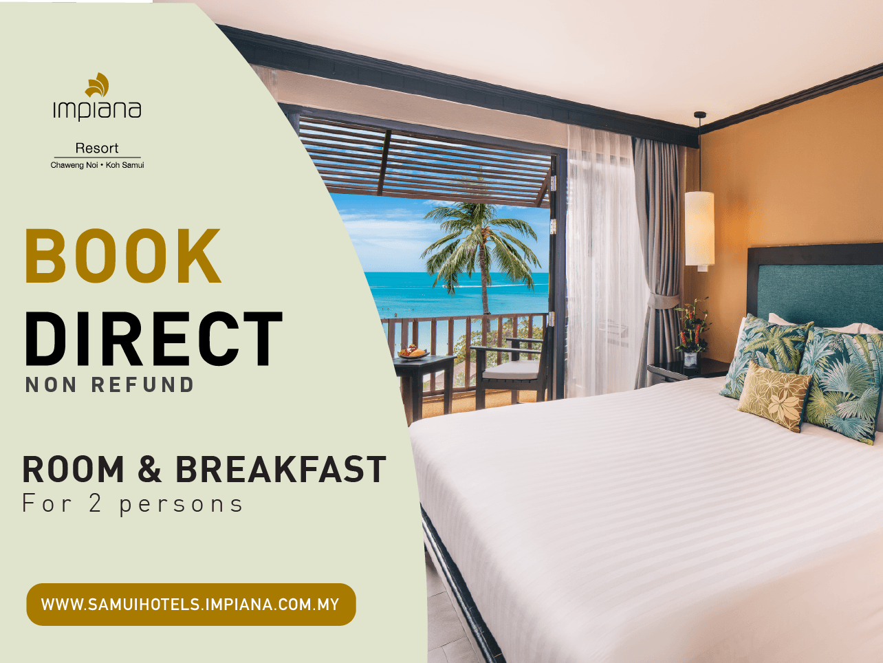 Room & Breakfast (Non refund)