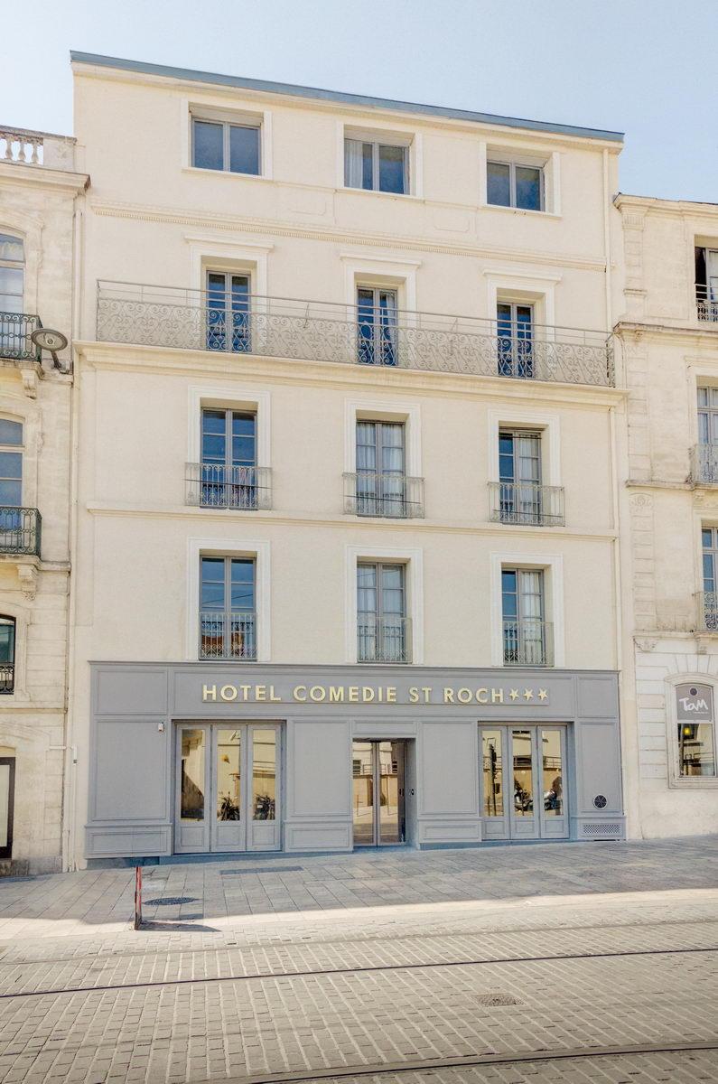 Best western plus comedie saint roch à Montpellier