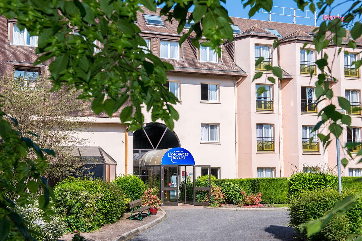 Hôtel vacances bleues - jardins de deauville à Pont l'eveque