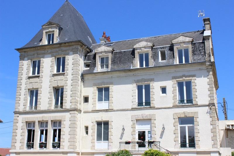 La villa andry à Ouistreham