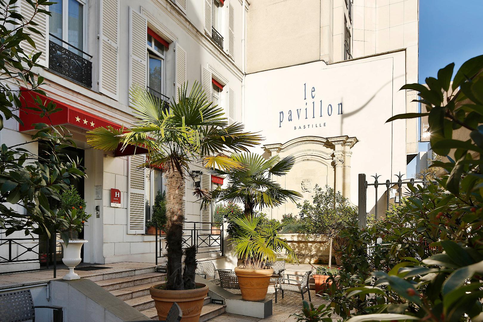 Pavillon bastille a Paris
