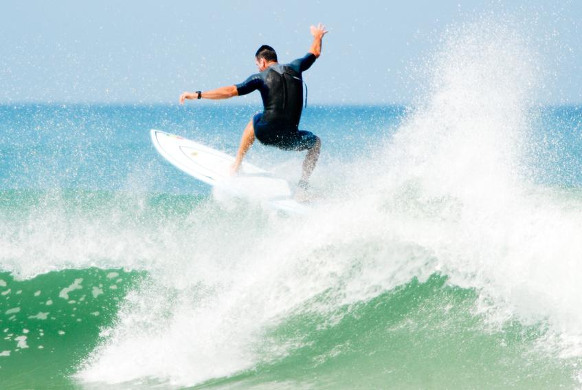 SURF AT SAINT-FRANCOIS